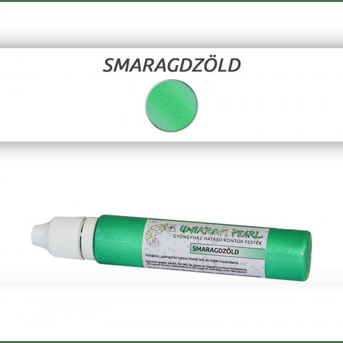 Kontúrfesték - smaragdzöld