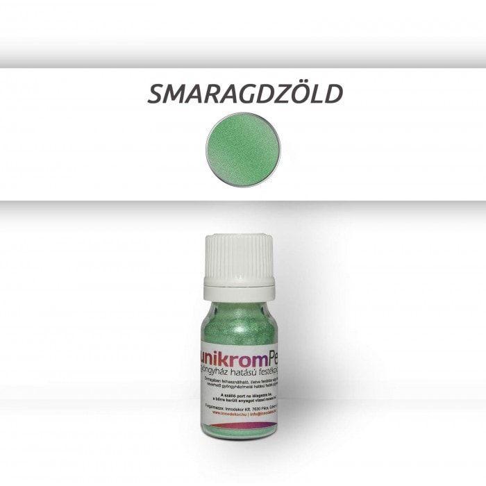 UnikromPearl gyöngyház hatású pigment - smaragdzöld